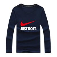 leopar erkek hoodie toptan satış-Sonbahar Marka Tasarımcısı T Shirt Erkekler Büyük leopar basketbol T Shirt Erkek Giyim uzun Kollu Ince Kazak Hoodie Tshirt erkekler Tops
