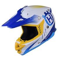 Wholesale Motorbike Cross - THH Brands mens motorcycle helmets motocross racing helmet off road motorbike full face moto cross helmet dual shield DOT TX27
