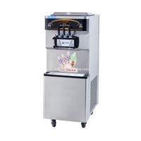 máquinas de gelo macio venda por atacado-Kolice comercial venda quente Taylor 3 sabores de gelo suave creme de máquina de iogurte gelato máquina de sorvete com refrigerante cheia