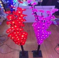 iluminação palco lanterna venda por atacado-1.2M150led luzes da árvore de pétala Lanterna seqüência de caracteres barra de flor Bar lâmpada de aniversário fase estrelada decoração do casamento