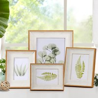Wholesale best vintage home decor resale online - Simple Styles Vintage Photo Frame Desk Inch Picture Frames for Wedding Family Photo Best Gift Home Table Decor