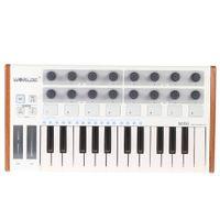 tragbare trommel großhandel-Großhandel Ultra-Portable Mini Professionelle 25-Key-USB-MIDI-Drum-Pad und Tastatur-Controller