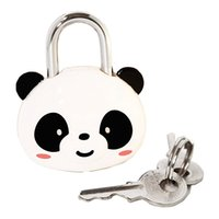 Cute Creative Mini Cartoon Silicone Metal Bagagem Mala Lock Padlock Backpack Handbag Maleta Drawer Cabinet