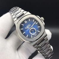 наручные часы купить оптовых-2018AAALuxury популярные Nautilus спортивные часы мужской бренд автоматический Monement циферблат из нержавеющей стали мужские механические часы Хэллоуин подарок