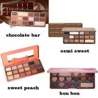 Wholesale chocolate bar eyeshadow makeup palette resale online - ePacket New Makeup Eyes Chocolate Bar Sweet Bon Bons Semisweet Sweet Peach Eyeshadow Palette Different Colors