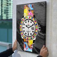 kunst leinwand wand dekore großhandel-Ungerahmt / Alec Monopol