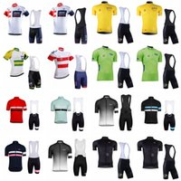 Wholesale iam cycling - RAPHA IAM team Cycling Short Sleeves jersey bib shorts sets Summer Cycling Outdoor Bike Sports Cycling Clothing D1319