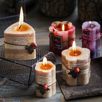 Wholesale scented flameless candles online - Triangle Scented Candles Flower Shape Romantic Wedding Party Decorations Supplies bougie Exquisite Home Decor Smokeless Candle zq WW