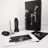 elektronisches rauchstiftrohr großhandel-Dabber tool carb cap rauchen vape pipe elektronische zigaretten G9 Mini Henail Wasserglas Bubbler wachs vape pen Starter Kits