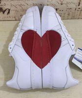 Wholesale Love Deeper - Newest 2018 Originals Women Superstar 80s Half Heart Valentine's Day White New CQ3009 Love Running Shoes Come With Original Box