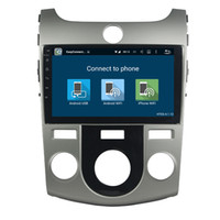 estereo kia cerato al por mayor-Reproductor de DVD del coche para Kia CERATO FORTE MT Full touch 8Inch 4GB RAM Andriod 8.0 con GPS, control del volante, Bluetooth, radio