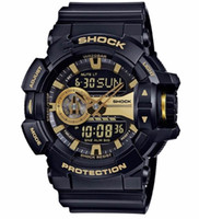 Wholesale analog alarm clocks - 2018 AAA G Style Mens Watches LED Outdoor Man Shock WristWatch Military Digital Clock Watch reloj hombre Date Male Swim Alarm Watches