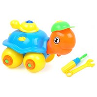 Wholesale assemble toys tools resale online - Chidlren DIY Turtle Educational Toys Disassembling Small Turtle Puzzle Toy Kids Assembled Model Tool Clamp With Screwdriver