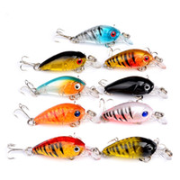 Wholesale jigs for fishing - Super Simulation Fish Design Lures Baits Fake Mini Pesca Tackle Plastic Lightweight For Outdoor Fishing Easy Carry 1 85sb ZZ