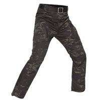 ingrosso cerniera multicam-Shanghai Story Men Tactical Pants Uomo Blend Cotton Army Cargo Pants SWAT Combat Hike cargo pantaloni Pantaloni IX9