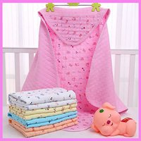 Wholesale Kangaroo Baby Bag - Newborn Baby Swaddle Blanket Sleeping Sack Four Seasons Care Cotton Bedding Supplies Kangaroo Sack Sleeping Bag