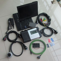 mb-stern c5 xentry großhandel-2018 Wifi MB Star C5 SD Connect für PKW LKW mit DTS Xentry 09/2018 ssd Super Speed mit X201t Laptop i7,4gb