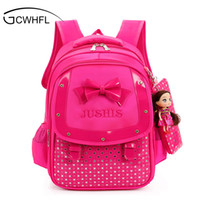 Wholesale cute backpacks for girls resale online - Cute Girls Backpacks Kids Satchel Children School Bags For Girls Orthopedic Waterproof Backpack Child School Bag Mochila Escolar