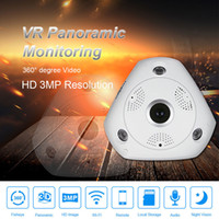 Wholesale panoramic dvr online - SEEME W pixels MP HD Wifi Fisheye Camera P HD Degree Panoramic Camera Mini Wifi DVR Wireless IP Recorder Baby Monitor