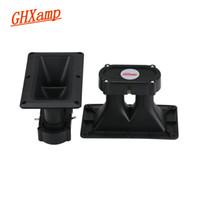 Wholesale Radio Horn Speakers - GHXAMP Dual Piezo Speaker Horn Piezo Tweeter Piezoelectric Head Driver Loudspeakr Treble DIY 150W 160*95MM 2PCS