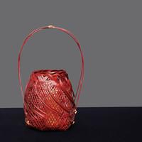 vasos japoneses venda por atacado-cesta Pastoral bambu, cesta de flores, caminho flor, flor da arte de bambu, e aparelhos flor japonesa no vaso e casa de chá