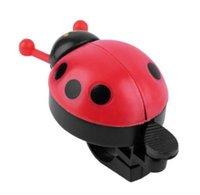 ingrosso campane di bicicletta all'ingrosso-Caldo ! Lovely Kid Beetle Ladybug Ring campanello per bicicletta Ciclismo bici da corsa Horn allarme bici tromba corno all'ingrosso