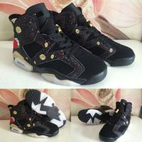 nuevas zapatillas de baloncesto chinas al por mayor-(Con la caja) Venta al por mayor 2018 zapatos nuevos 6 CNY zapatos de baloncesto de los hombres 6s zapatillas de deporte del Año Nuevo Chino Tamaño de nosotros 7-13