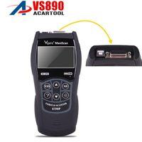 automatische scanner-tools großhandel-Bester preis VS890 OBD2 Codeleser Universal VGATE VS890 OBD2 Scanner mehrsprachige Auto-diagnosewerkzeug Vgate MaxiScan