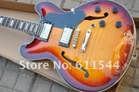 guitares classiques livraison gratuite achat en gros de-Vente en gros G Semi-creux 335 Guitare Jazz classique de haute qualité Instruments de musique Livraison gratuite