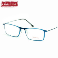 3a426f48852 Chashma Brand Eye Glasses TR 90 Frame Titanium Temple Glasses Light Eyeglasses  Women and Men Frames for Prescription. 35% Off