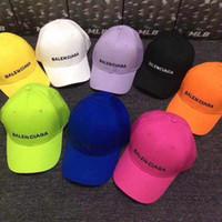 любители бейсбола оптовых-Мужские твердые письмо Snapback топ дизайнер бейсболки регулируемые ВС Hat хип-хоп шапки открытый спортивные шляпы любителей тени шляпы