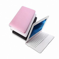 Wholesale pink laptop 8gb resale online - 2018 new notebook Inch Fashion GB GB HDMI Laptop inch Dual Core Android GHZ HDMI Wi fi Mini Netbook
