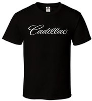 baba tişört toptan satış-Cadillac-Siyah T-Shirt Caddy Escalade CTS frenler Baba Motor Tüm Boyutları S-3XL Baskı Rahat T-Shirt Erkekler Marka Kısa Kollu Hipster Tees