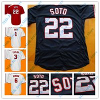 Wholesale max gold black - Juan Soto Jersey 16 Victor Robles Michael A. Taylor Trea Turner Stephen Strasburg Max Scherzer Anthony Rendon Wilmer Difo Pedro Severino