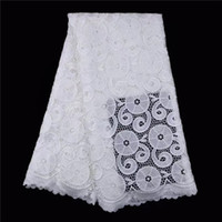 Wholesale Swiss Voile Lace Sale - SNY1007 Hot sale African swiss voile lace fabric high quality swiss polish lace in Switzerland for wedding