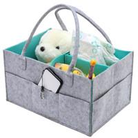 organizador de brinquedos venda por atacado-Dobrável Do Bebê Caddy Fralda Organizador Portátil Saco De Armazenamento / caixa para Carro Viagem Mudando Mesa Organizador, Presente Kid Brinquedos