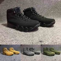 Wholesale Christmas Countdown - Cheap 9 Basketball Shoes Mens White 9s VIIII Bred Space Olive City Of Flight GS Countdown Pinnacle Pack Outdoor Shoe Sneakers