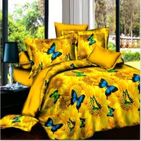 Wholesale tiger bedding king for sale - 3D Cartoon tiger Dog peacock Pattern Boy Girl Adult Child Bedclothes Bedding Set Bed Cover Bed Sheet Duvet Cover Pillowcase rose
