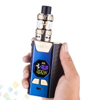 Wholesale metal lovers for sale - Authentic Superhero TC w Starter Kit inch Big Colorful Screen Fit Dual Box Mod Lover Atomizer Ecig DHL Free