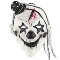 lächeln masken großhandel-Heißer Verkauf Maskerade Party Halloween Lächeln Teufel Clown Horror Maske Vampir Scary Ghost Death Latex Maske