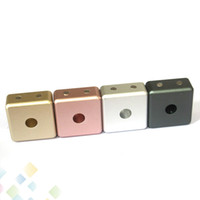 suportes magnéticos venda por atacado-Forte Magnetic Atomizador Base Suporte Display Magnet Conexão Cool e Engraçado Suporte De Metal para Facilmente Organizar Atomizadores RDA RBA Tanque