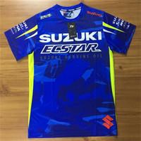 ropa motogp al por mayor-MotoGP caliente nueva para motocicletas con ropa de secado rápido de manga corta camiseta grande de carreras de autos masculina todoterreno T-S