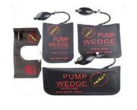 herramientas de selección de bloqueo bmw al por mayor-Las mejores herramientas originales de Klom PUMP WEDGE LOCKSMITH de cuña de aire Airbag de bloqueo Juego de selección Cerradura de puerta de coche abierto Negro S / M / L / U 4pcs / lot