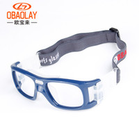coussinets pour lunettes achat en gros de-Lunettes de cyclisme de lentilles de sport en PC durable Silicone Pads Doux Lunettes de badminton de basket-ball confortables Les yeux protègent les lunettes d'équitation