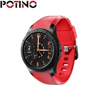 POTINO GW11 3G Guarda Bluetooth da 1,3 pollici Ultra sottile schermo Smart Watch Phone Support Nano SIM Card Wifi GPS Pedometro