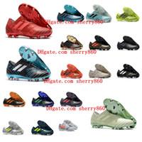 football agilité achat en gros de-2018 chaussures de soccer pour hommes Nemeziz 17 360 Chaussures de soccer Agility FG pour Nemeziz Tango Crampons de chaussures de football messi de qualité supérieure pas cher.