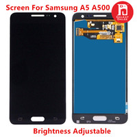 Wholesale samsung galaxy a5 screen assembly for sale - Screen For Samsung Galaxy A5 A500 A500F A500M LCD Display Touch Screen Digitizer TFT Assembly Replacement Brightness Adjustable