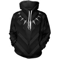 erkekler için anime ceketi kostümleri toptan satış-Yeni Avengers 3 Demir Adam Siyah Panter ceket kostüm cosplay fermuarlı hoodie ceket ile anime ücretsiz kargo