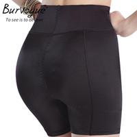 Wholesale waist hip underwear resale online - Burvogue Slimming Waist Body Shaper And Tummy Control For Women Butt Lifter Underwear Butt Hip Enhancer Padded Shaper Panties
