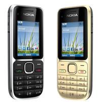 Wholesale 3g Wcdma Gsm - Refurbished Original Nokia C2-01 Unlocked 2.0 inch Screen Bar Mobile Phone GSM WCDMA 3G 3.2MP Camera FM MP3 MP4 Cell Phone Free Post 1pcs